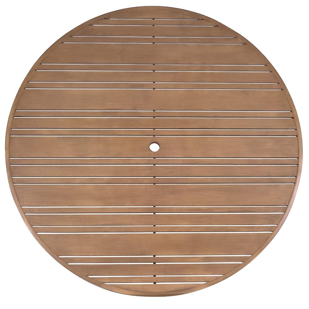Woodard Tri Slat 60 Inch Round Top 2660