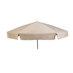 Woodard 7 1/2 Foot 6-Rib Fiberbuilt Garden Umbrella - 1475GR