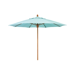 Woodard 8 Foot Octagonal Fiberbuilt Bridgewater Umbrella - 1480BRPUW