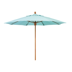 Woodard 9 Foot Octagonal Fiberbuilt Bridgewater Umbrella - 1490BRPUW