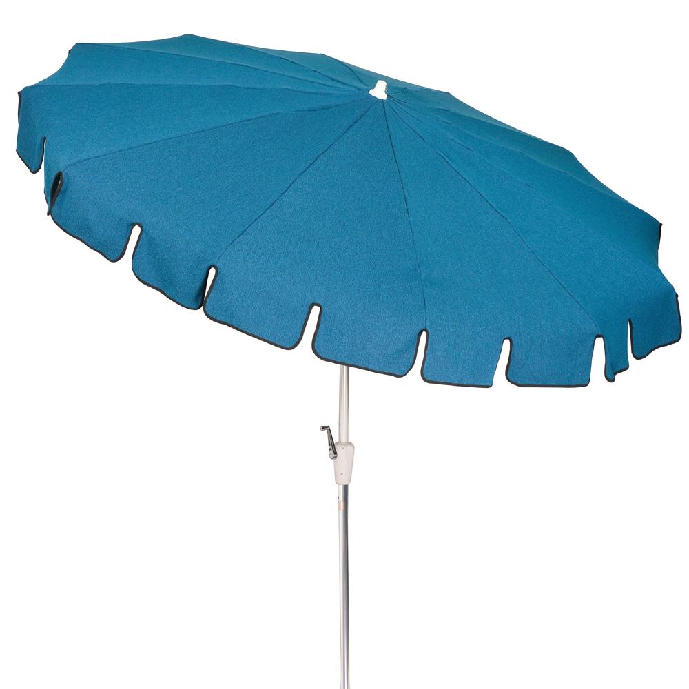 Woodard 8 5 Foot 8 Rib Deluxe Aluminum Market Umbrella