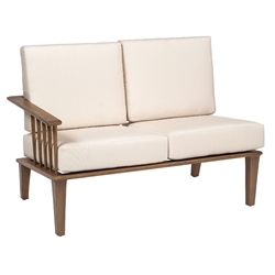 Woodard Van Dyke Left Arm Facing Sectional Loveseat - 1F0460
