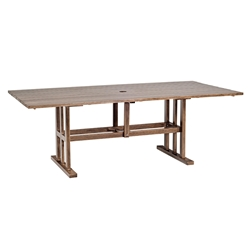 Woodard Woodlands Rectangular Dining Table - 2Q84BT