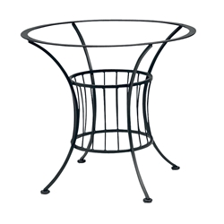 Woodard Wrought Iron Table Bases
