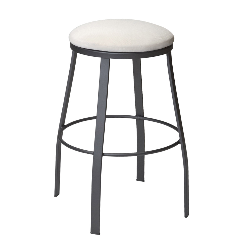 Woodard Universal Backless Bar Stool With Attached Cushion