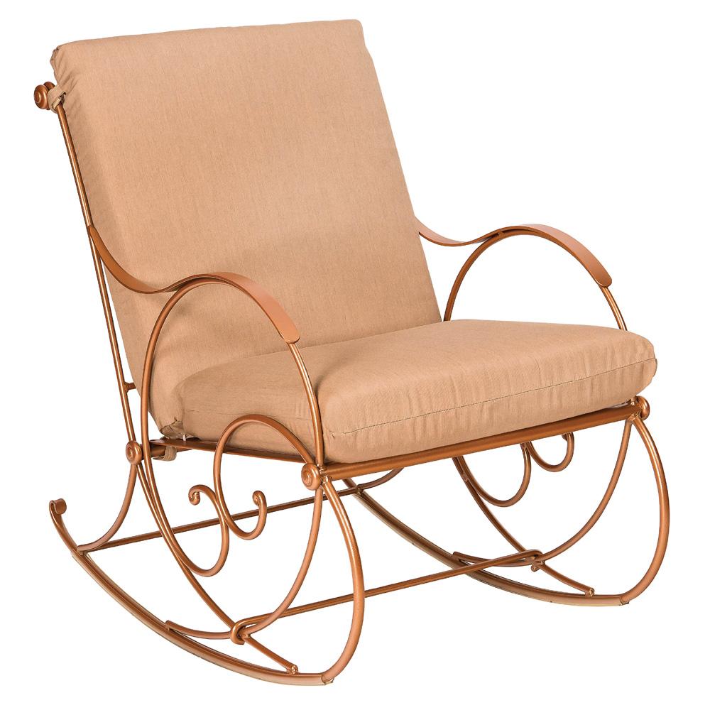 Woodard Wellington Wrought Iron Rocking Chair Set Wd