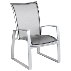 Woodard Wyatt Flex Dining Arm Chair - 520401