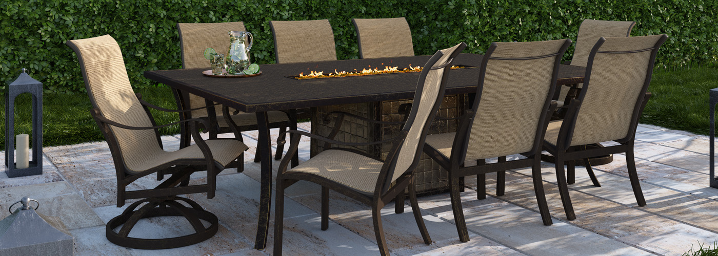 Castelle Madrid Outdoor Furniture Collection