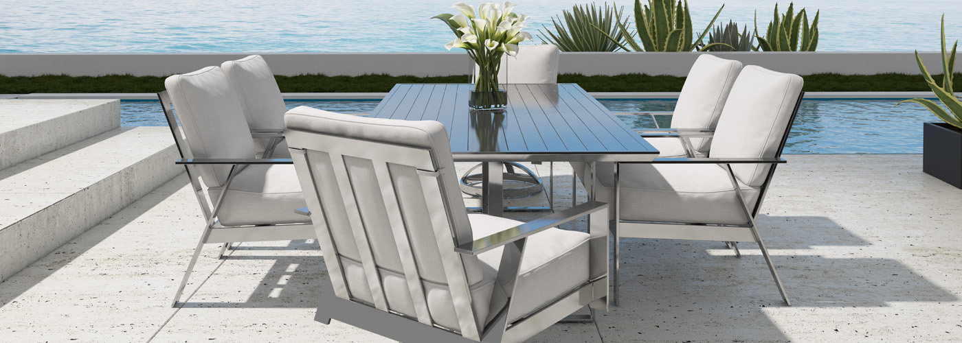 Castelle Trento Outdoor Furniture Collection