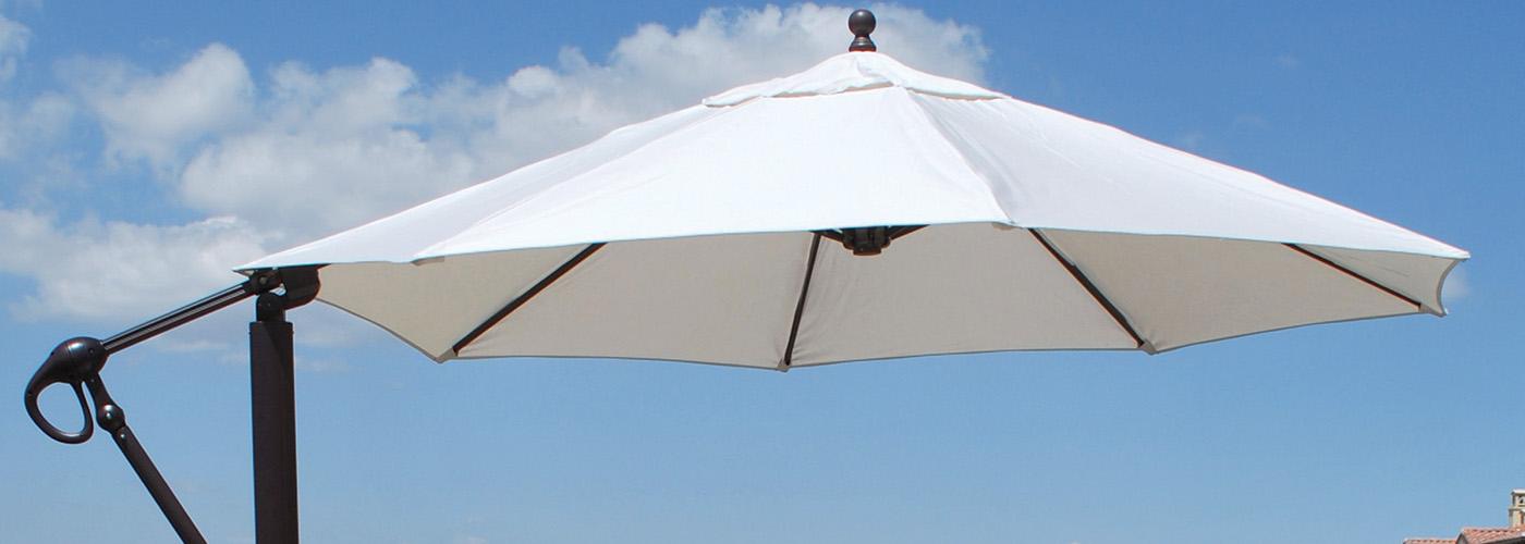 Galtech Cantilever Patio Umbrellas