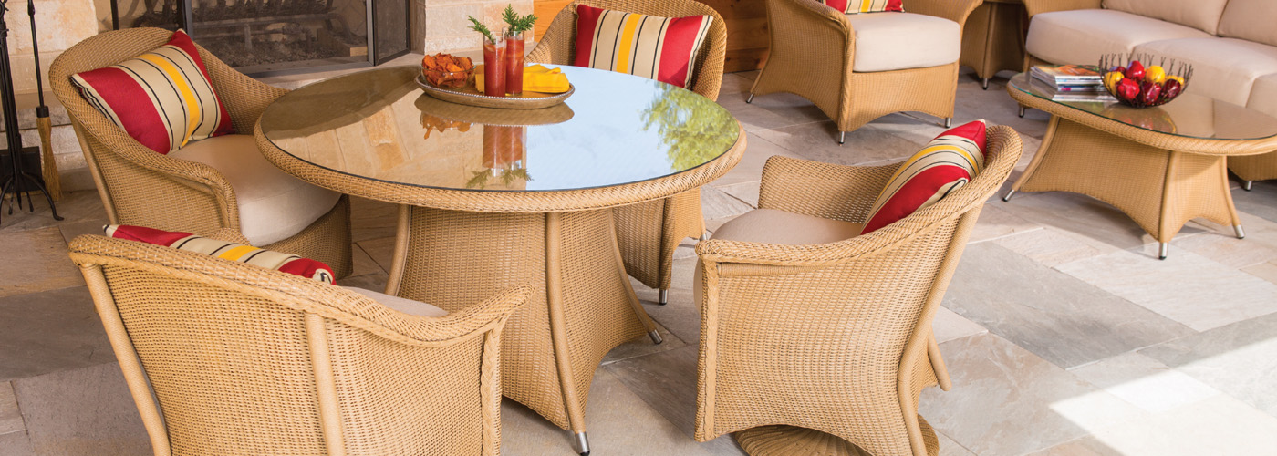Lloyd Flanders Wicker Tables