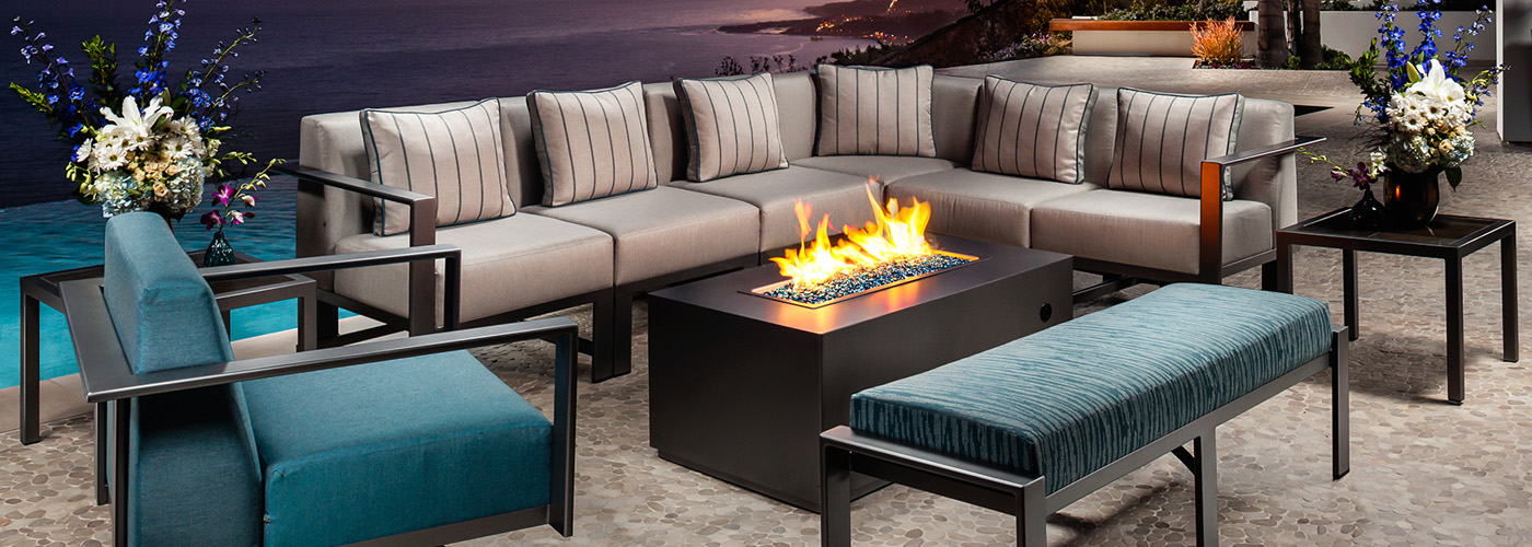 OW Lee Forma Fire Tables