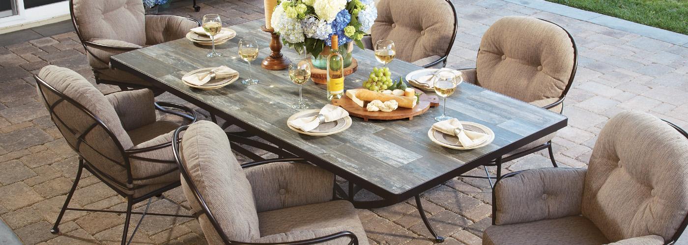 OW Lee Porcelain Tile Tables