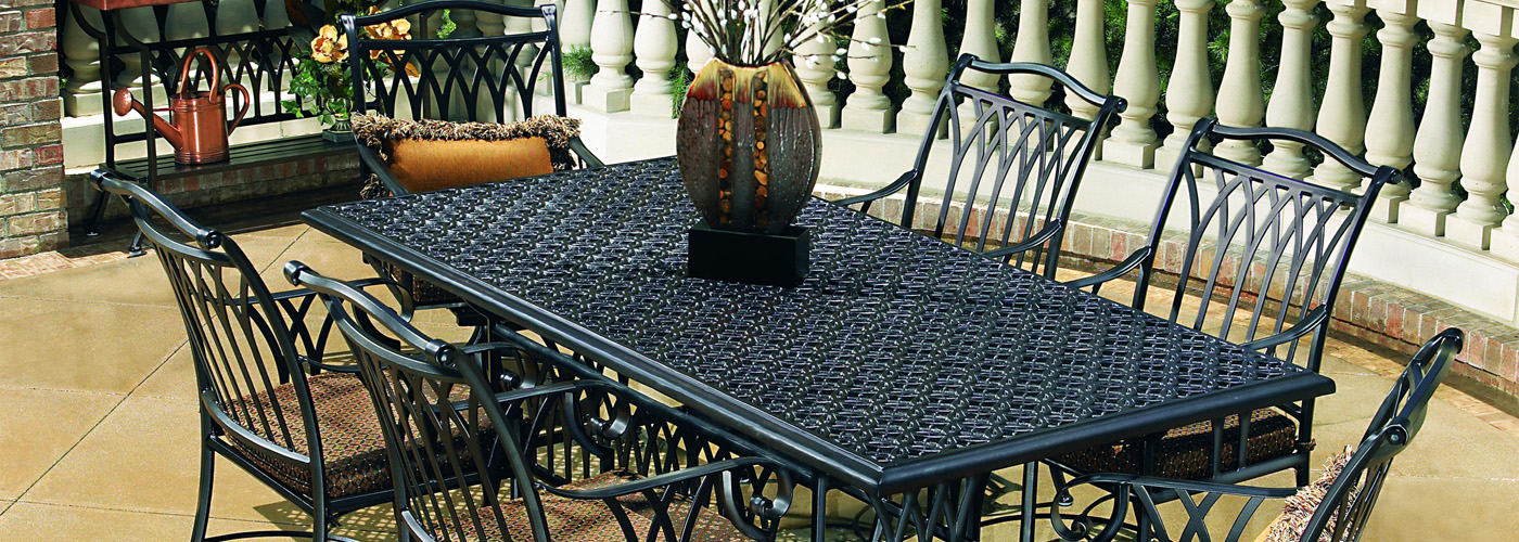 OW Lee Richmond Cast Aluminum Table Tops