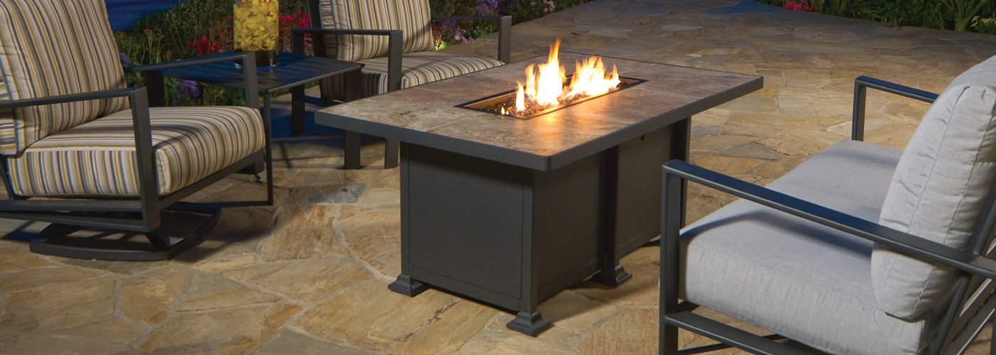 OW Lee Vulsini Fire Pit Tables