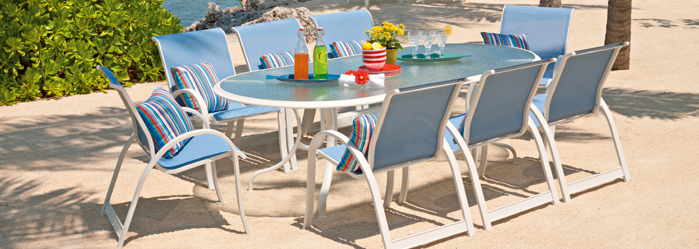 Telescope Casual Aruba II Collection USA Outdoor Furniture - Telescope casual furniture