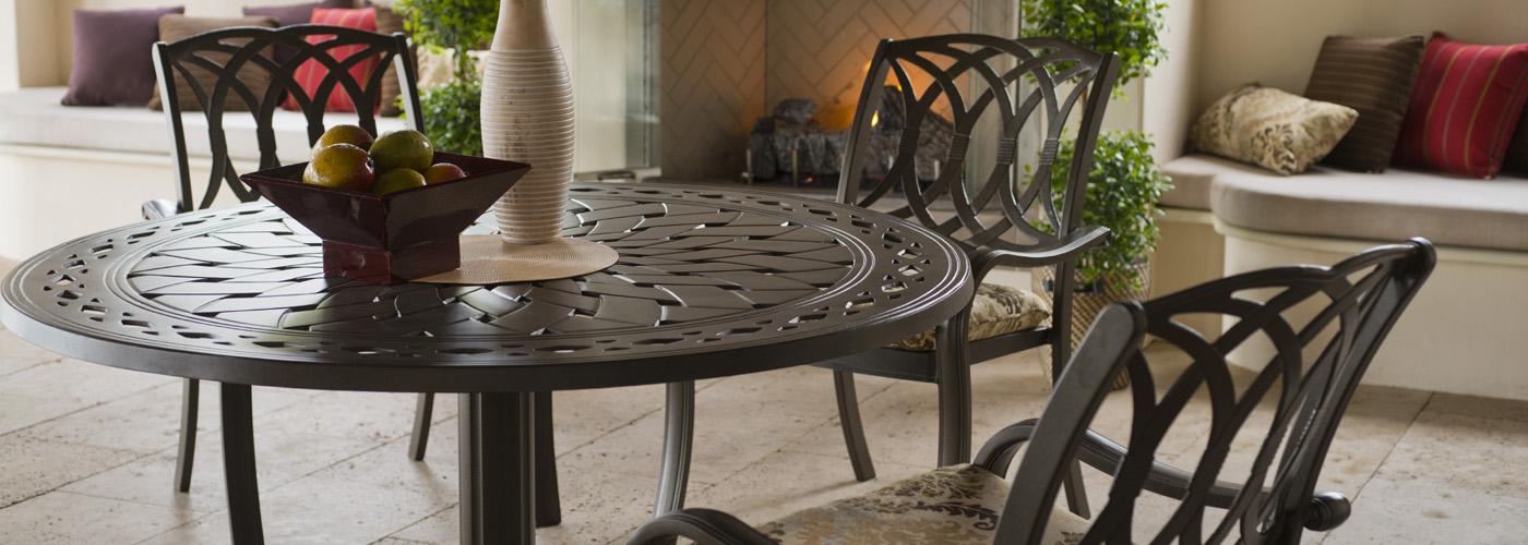 Telescope Casual Cast Aluminum Tables Usa Outdoor Furniture