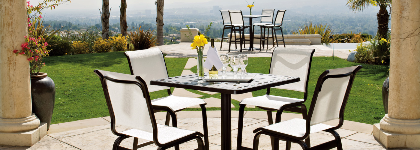 Telescope Casual Fortis Sling Collection Telescope Outdoor Furniture - Telescope casual furniture