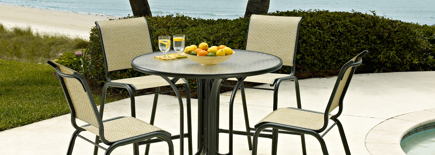 Telescope Casual Obscure Acrylic Tables - Telescope Casual Obscure Acrylic Tables USA Outdoor Furniture