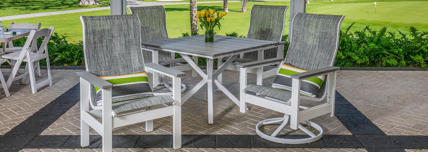 Windward Kingston Marine Grade Polymer, Windward Patio Furniture