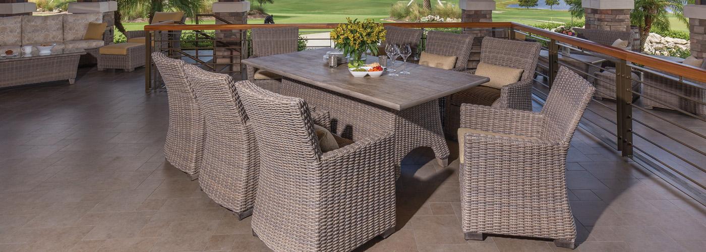 Windward Oxford Wicker Outdoor, Windward Patio Furniture