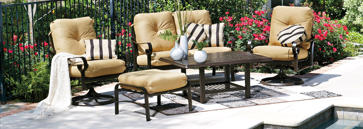 Woodard Belden Collection Woodard Aluminum Patio Furniture