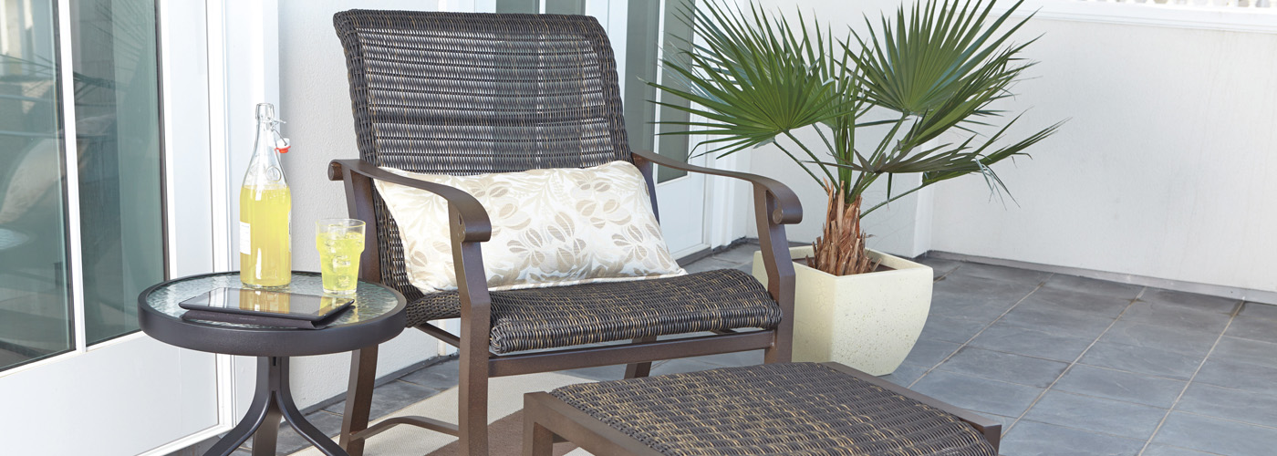 Woodard Cortland Wicker Collection