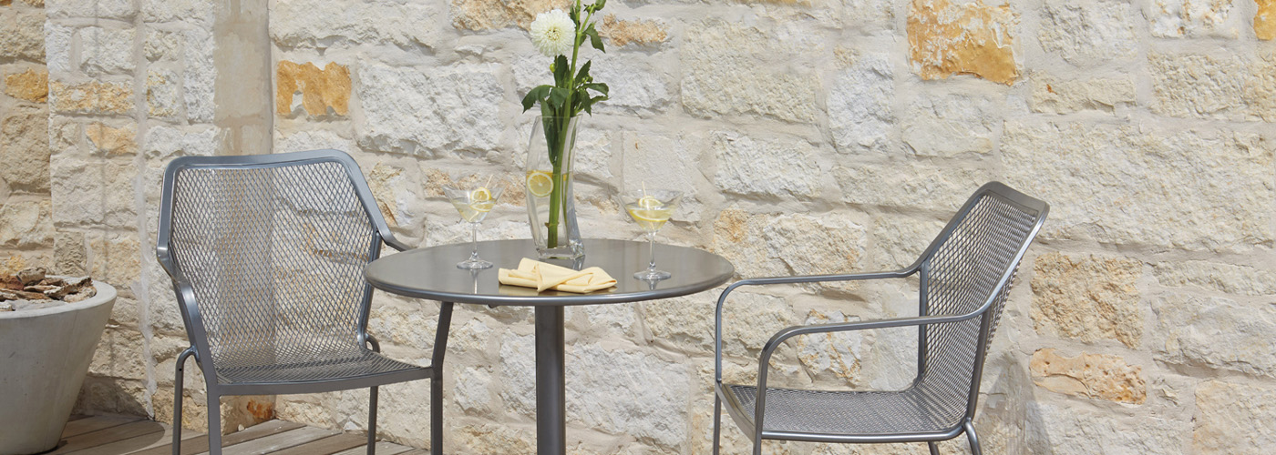 Woodard Solid Iron Patio Tables