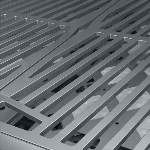 Hestan DiamondCut lasered stainless steel grates