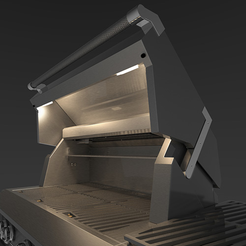Hestan grill lighting