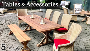 Lloyd Flanders Tables and Accessories