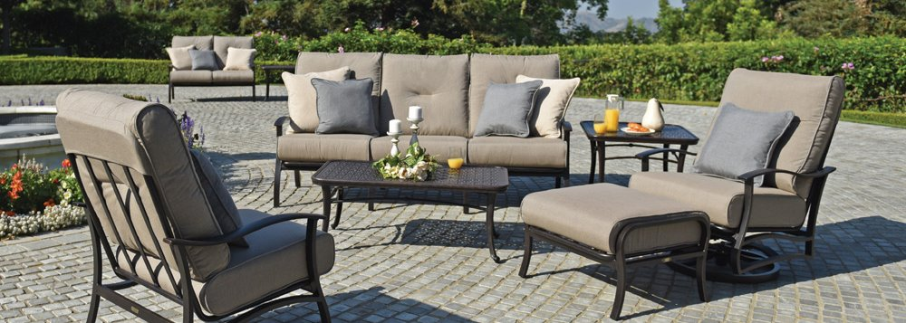 Mallin Albany Cushion Furniture Collection, Mallin Patio Furniture