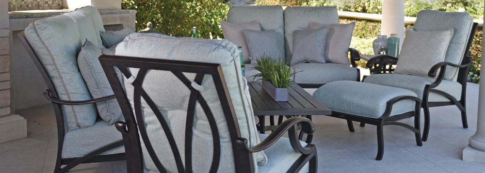 Mallin Volare Cushion Collection, Mallin Patio Furniture