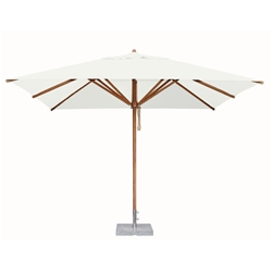Bambrella Levante 10 Foot Square Umbrella - 30m-SQ-L