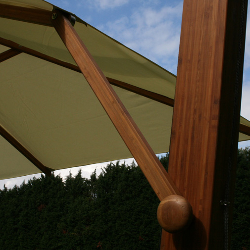 Bambrella Cantilever Sidewind 10 Foot Square Umbrella