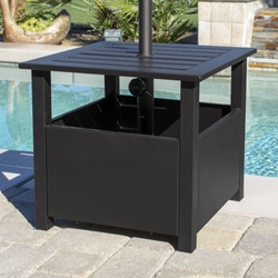 California Umbrella Sunmaster Aluminum Side Table Umbrella Stand - SD51