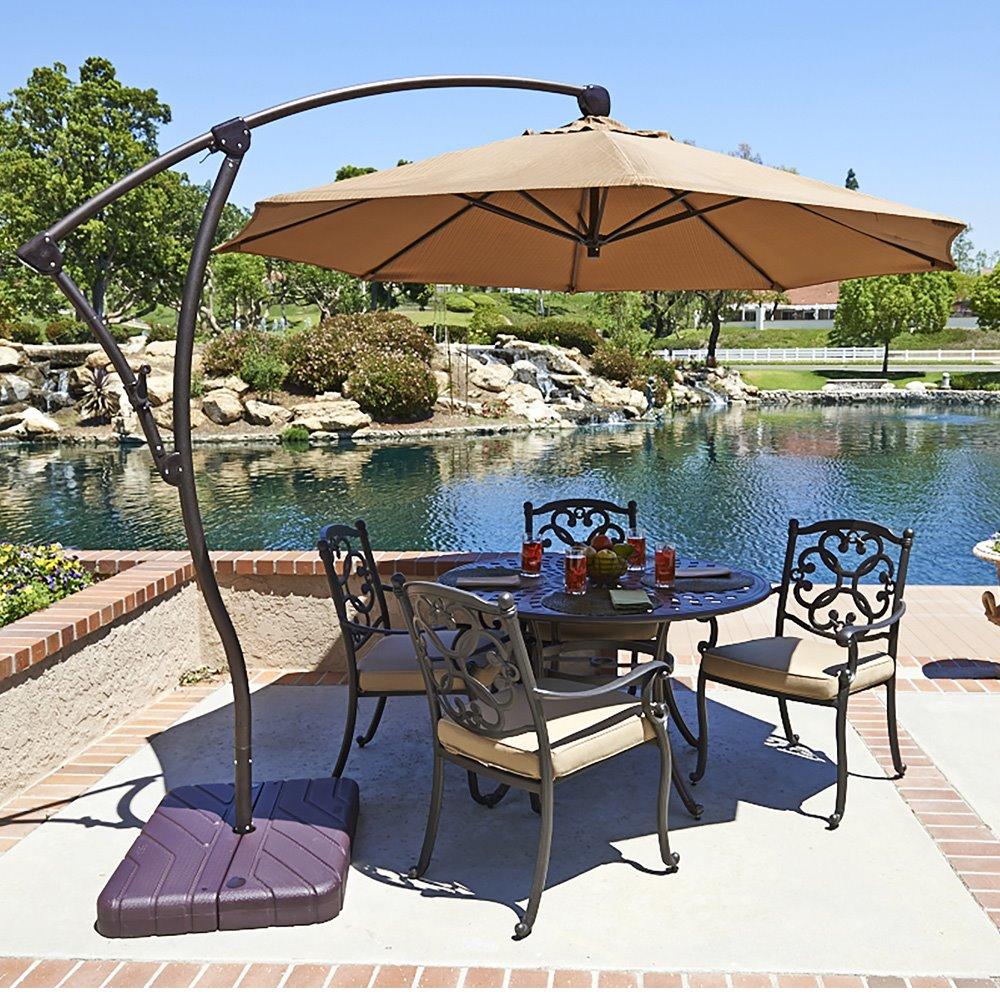 c7be8eca101e California Umbrella Bayside 9' Aluminum Patio Umbrella