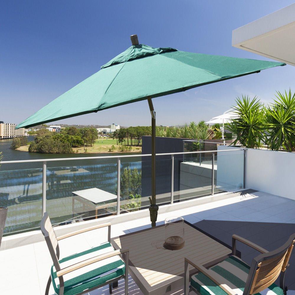 f954ad990fae California Umbrella Sunset Series 9' Aluminum Patio Umbrella | SDAU908