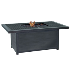 "Castelle Altra 36"" x 52"" Rectangular Coffee Table with Firepit - TRF32WL"