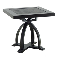 "Castelle Arches 20"" Square Side Table - KSS20"