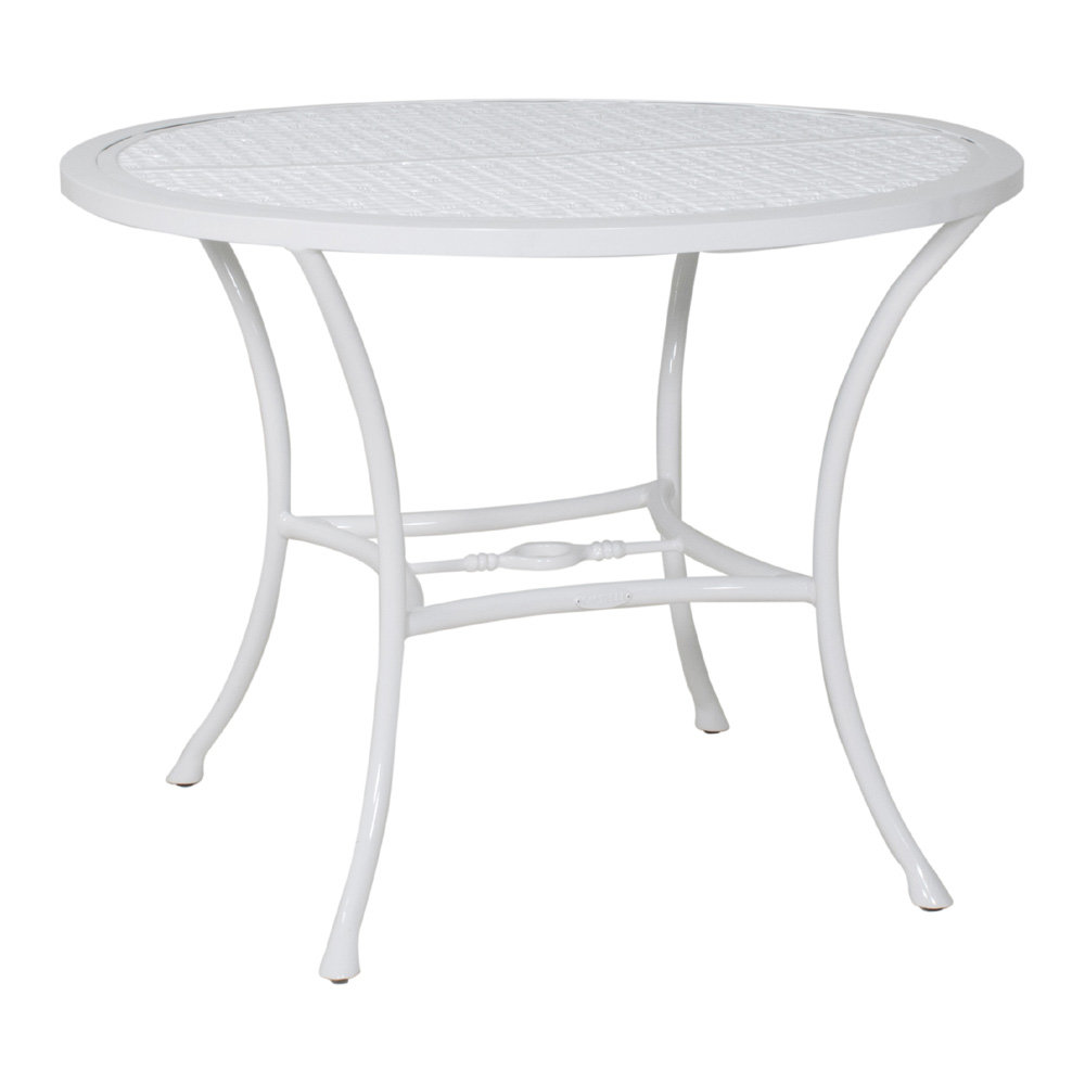 "Castelle Barclay Butera Savannah 36"" Round Dining Table - B0CD36"