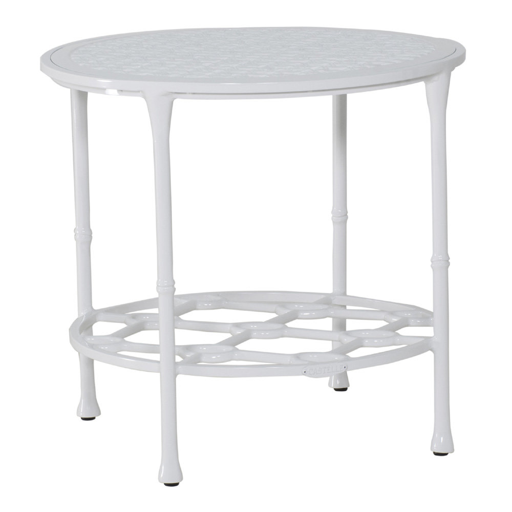 "Castelle Barclay Butera Savannah 20"" Round Occasional Table - B0CP20"