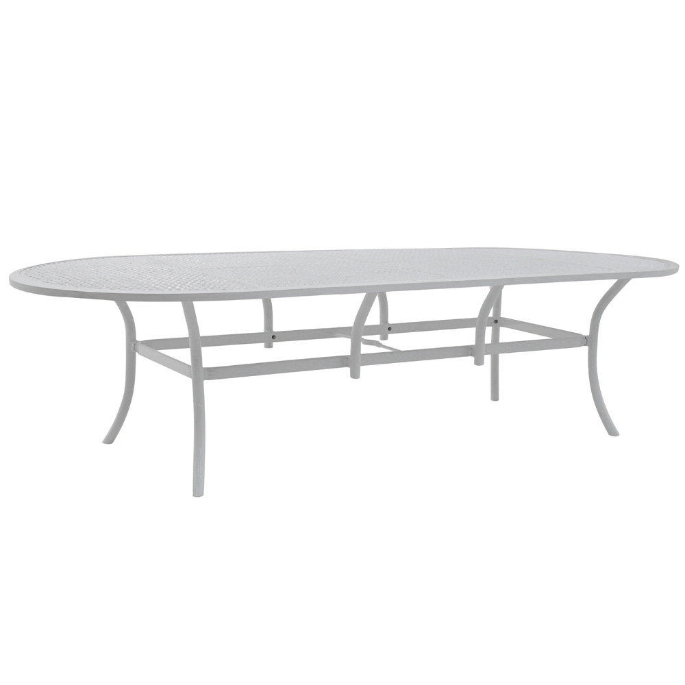 "Castelle Barclay Butera Savannah 49"" x 108"" Oval Dining Table - B0ODK108"