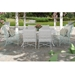 Castelle Barclay Butera Savannah Patio Dining Set for 6 - CS-SAVANNAH-SET1