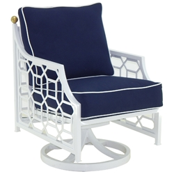 Castelle Barclay Butera Signature Cushioned Swivel Rocker - 6207T
