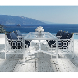 Castelle Barclay Butera Signature Outdoor Dining Set - CS-SIGNATURE-SET2