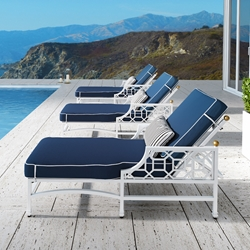 Castelle Barclay Butera Signature Set of 3 Chaise Loungers - CS-SIGNATURE-SET3