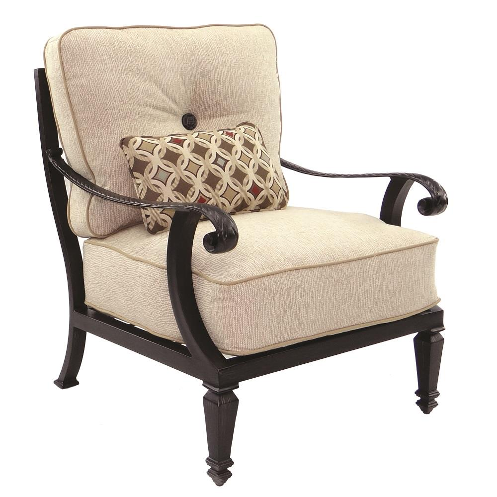Castelle Bellagio Cushioned Lounge Chair - 2610T
