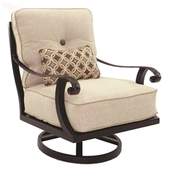 Castelle Bellagio Cushioned Lounge Swivel Rocker - 2615T