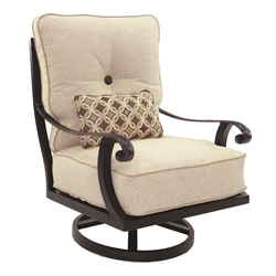 Castelle Bellagio High Back Cushioned Lounge Swivel Rocker - 2616T